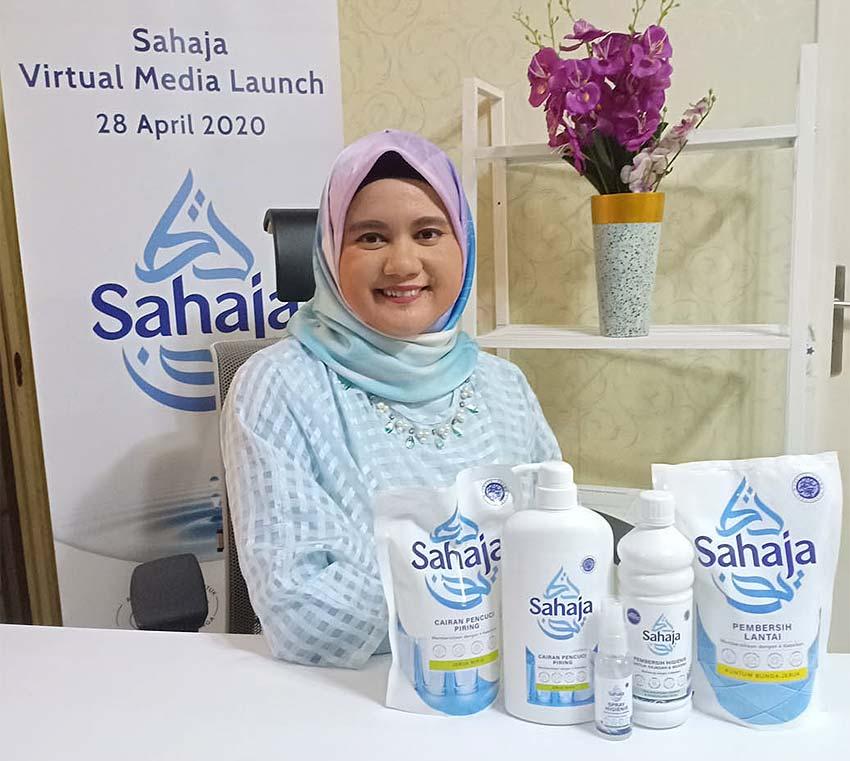 PT Unilever Indonesia, Tbk, merilis rangkaian produk perawatan rumah terbarunya, Sahaja. (Foto: dok Sahaja)