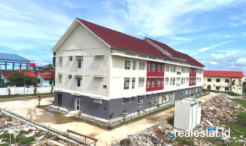 Rusunawa MBR Lampung Selatan Jadi Tempat Isolasi pasien COVID-19. (Foto: Dok. Kementerian PUPR)