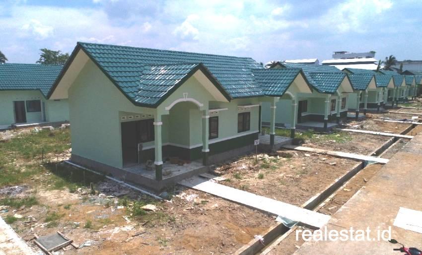 Rumah khusus (Rusus) TNI di Pontianak. (Foto: Dok. Kementerian PUPR)