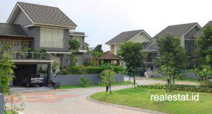 Perumahan cluster di kawasan Banten.