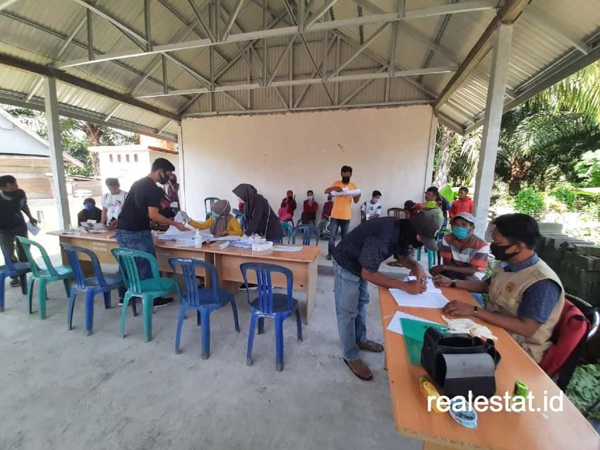 Tahun ini Program BSPS di Sulawesi Barat dibagi dalam dua tahap.(Foto: Dok. KemenPUPR)