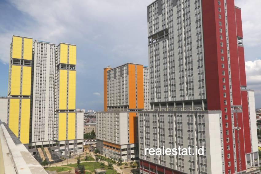Kementerian PUPR  mempersiapan tower 2, 4, dan 5 di Wisma Atlet Kemayoran sebagai Rumah Sakit Darurat Covid-19. (Foto: Dok. Kementerian PUPR)