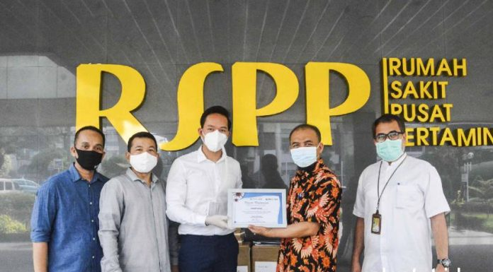 Broad Group donasi BROAD Purifier BROAD Airpro Mask RSPP Pertamina covid-19 realestat id dok