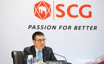Roongrote Rangsiyopash SCG kuartal q 1 2020 realestat id dok