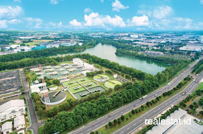Lahan Kawasan Industri. (Foto: Dok. Bekasi Fajar Industrial Estate)