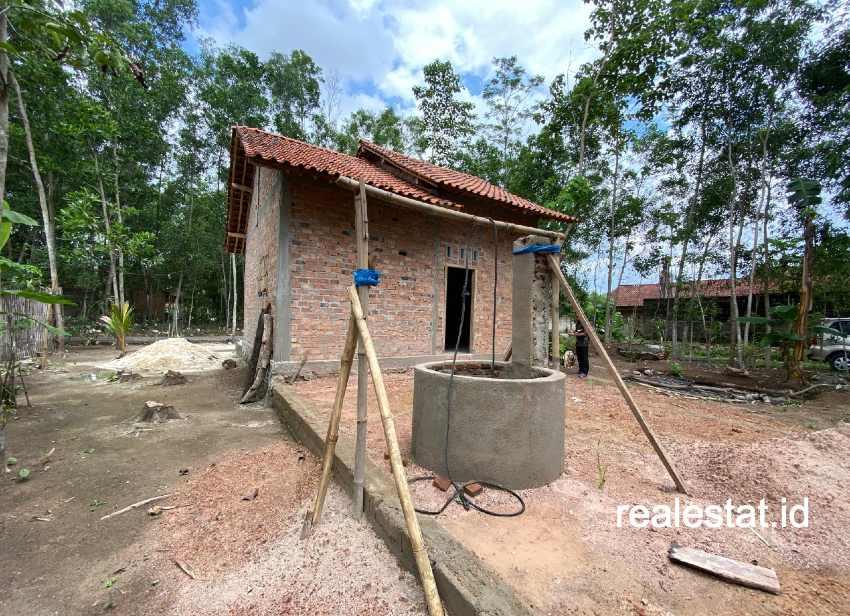 Rumah tak layak huni yang mendapat bantuan program BSPS. (Foto: Dok. Kementerian PUPR)