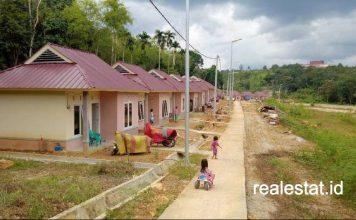 rusus rumah khusus Relokasi Bencana di Bantaran Sungai Ogan Komering Ulu Selatan kementerian pupr realestat id dok