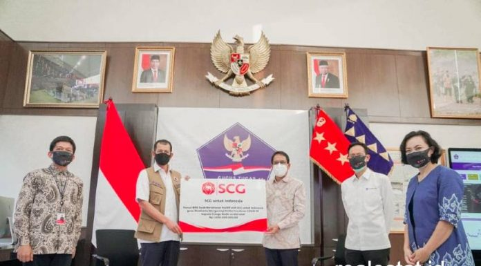 SCG donasi bilik Swab bertekanan positif untuk tenaga medis BNPB realestat id dok