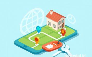 property investment membeli rumah secara online daring virtual realestat id dok
