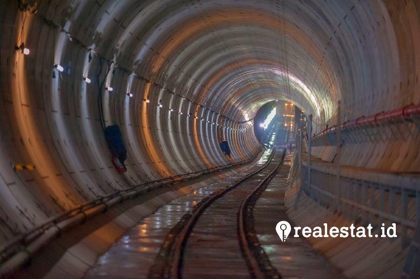 Jalur bawah tanah MRT. (Foto: Dok. JakartaMRT.co.id)