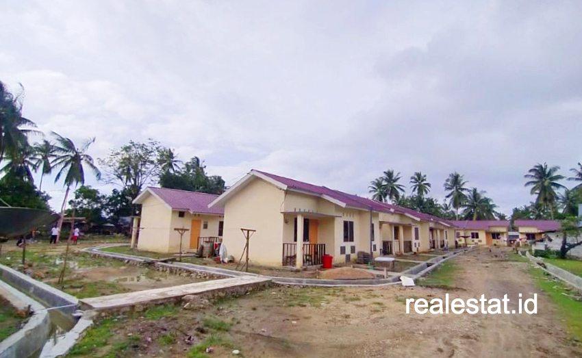 Rumah khusus nelayan di Konawe Utara. (Foto: Kementerian PUPR)