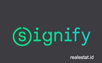 signify logo realestat id dok kemasan bebas plastik