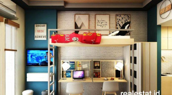 tips mendesain apartemen tipe studio kecil apartemen mahasiswa evenciio pp properti realestat id dok
