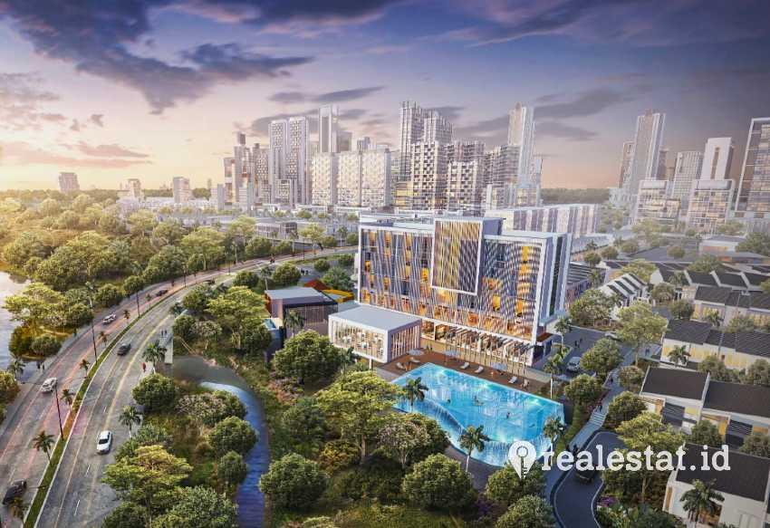 Proyek Cibinong New City, Bogor (Foto: Dok. Winner Group)