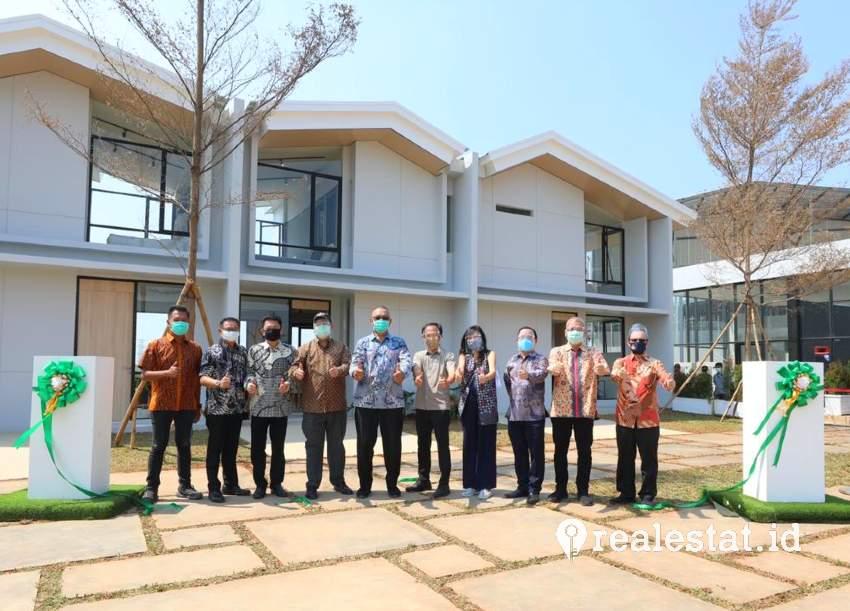 KJIE meresmikan  show unit dan marketing gallery  Rolling Hills Karawang.