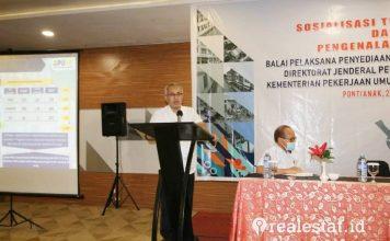 Kementerian PUPR Sosialisasikan Balai Pelaksana Penyediaan Perumahan di Kalimantan barat realestat.id dok