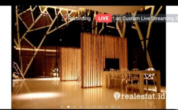 Kenari Djaja Gelar Webinar Konsep Desain Arsitektur Bambu realestat.id dok