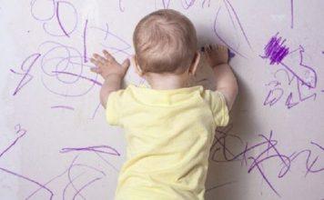 Tips-membersihkan-coretan-anak-di-dinding