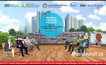 Pemulihan Ekonomi Nasional Sinergi untuk Percepatan Pemulihan Sektor Perumahan realestat.id dok