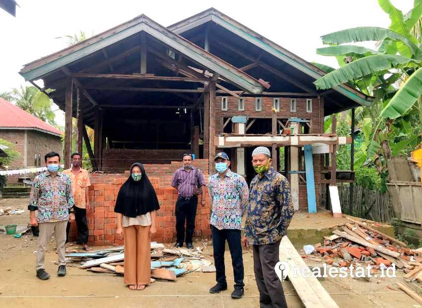 Program Bedah Rumah (BSPS) di Bireuen, Aceh. (Foto: Dok. Kementerian PUPR)