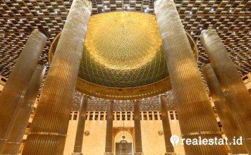 renovasi masjid istiqlal idul adha kementerian pupr realestat.id dok