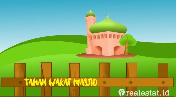 sertifikat tanah wakaf masjid atr bpn realestat.id dok