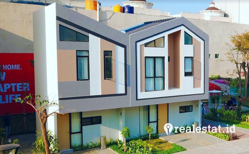 show unit rumah cluster rotterdam jababeka residence realestat.id dok