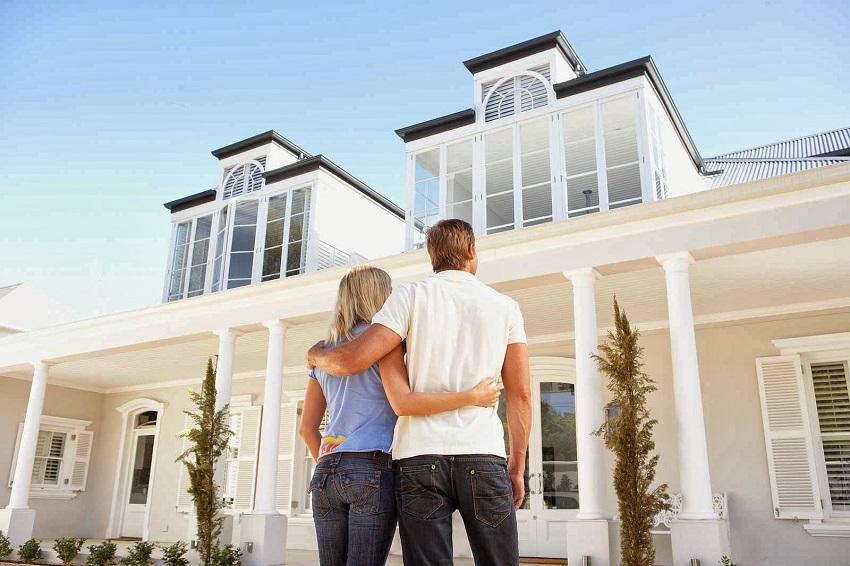 Ilustrasi membeli rumah pertama bagi pasangan muda. (Foto: Istimewa)