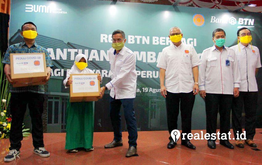 Acara ini dilakukan untuk memperingati  HUT Kemerdekaan Republik Indonesia ke-75 serta peringatan Hari Perumahan Nasional (Hapernas)
