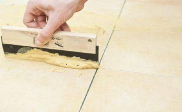 cara memperbaiki nat lantai, tips memperbaiki nat keramik