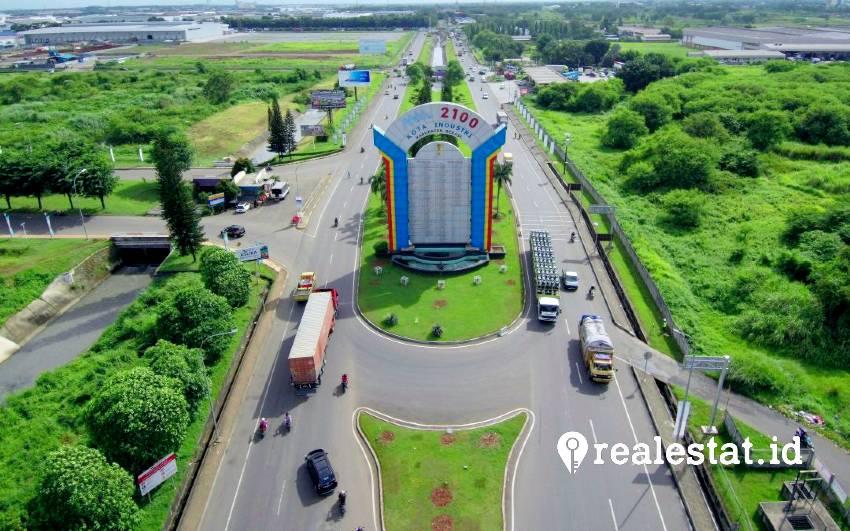 Kawasan industri MM2100 di Koridor Timur Jakarta. (Foto: Dok. mm2100.co.id)
