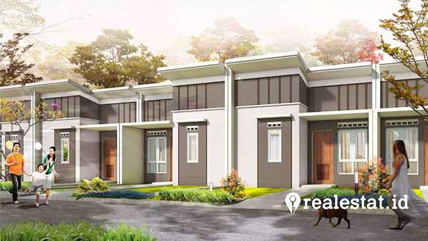 Rumah Rp200 jutaan di Kota Podomoro Tenjo. (Foto: kota-podomoro.com)
