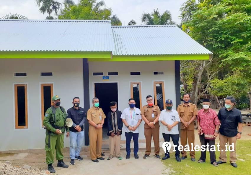 Program Bedah Rumah di Kuantan Singingi (Foto: Dok. Kementerian PUPR)