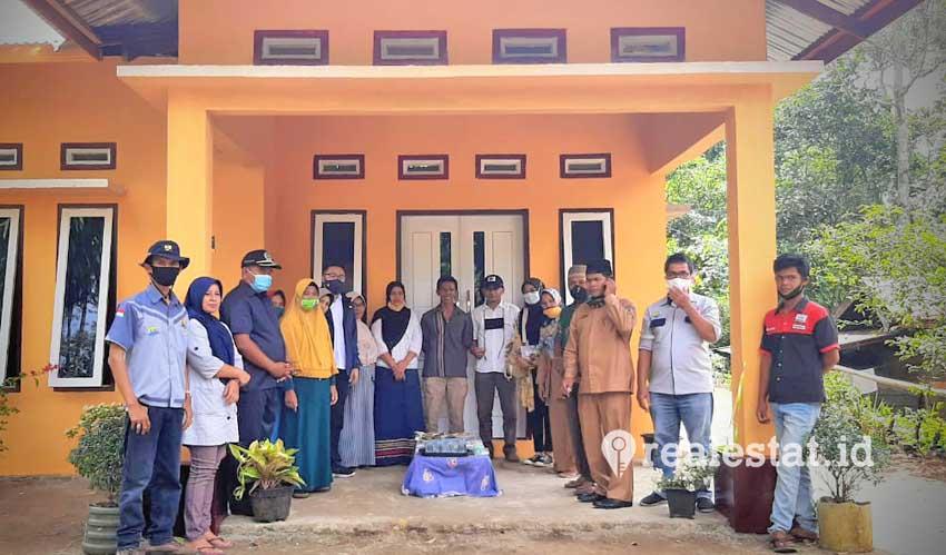 Program BSPS di Sumatera Barat sasar sebanyak 3.772 unit rumah di 10 kabupaten/kota.