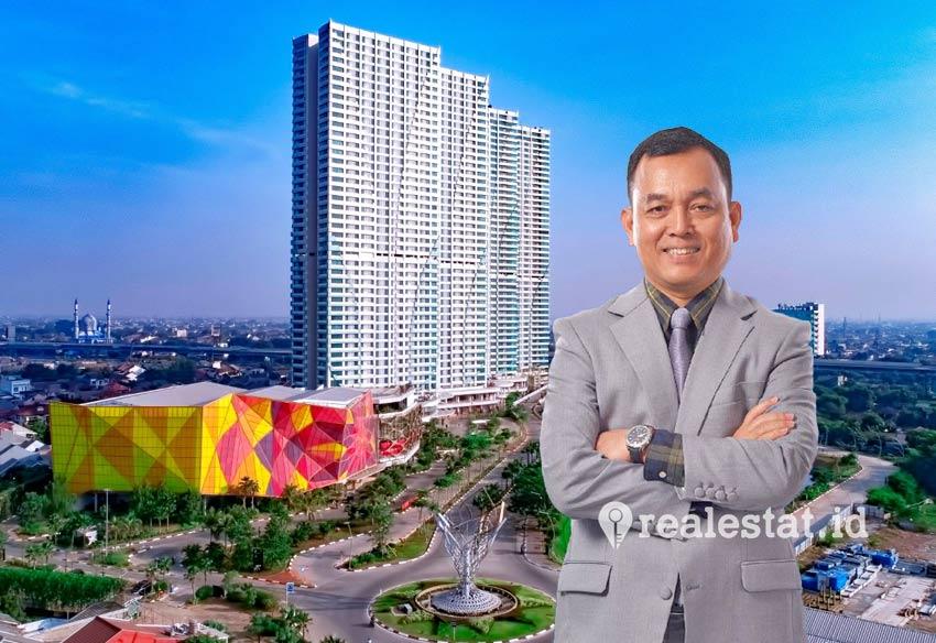 Taufik Hidayat, Direktur Utama PT PP Properti, Tbk. (Foto: PP Properti)