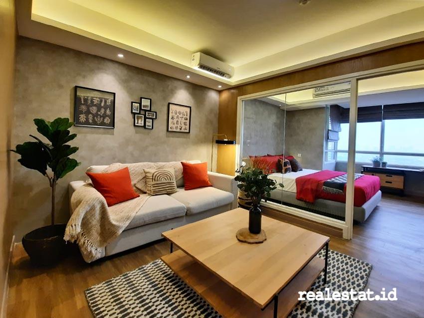 Salah satu unit hunian apartemen Skandinavia di kawasan Tangcity, Tangerang, yang memfokuskan diri pada pola hidup sehat. (Foto: dok. Skandinavia Apartment)