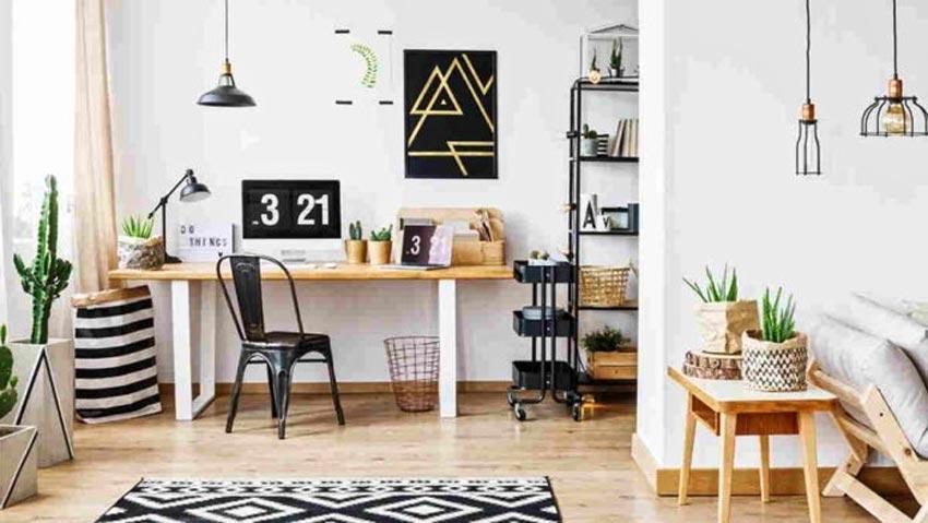 Desain Ruang Kerja di Rumah RealEstat.id istimewa