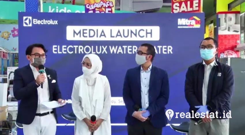 Electrolux resmi memperkenalkan Water Heater seri instan Comfort Flow serta storage Aura Premium dan AquaPro Series. (Foto: Adhitya Putra)