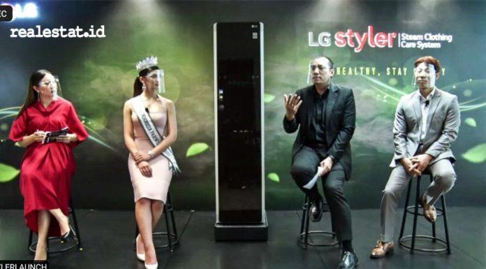 LG Styler, Lemari pintar LG,