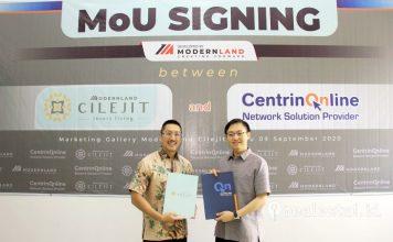 MoU Modernland Cilejit Centrin Online Smart City realestat.id dok