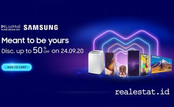 Samsung-x-Lazada-Super-Brand-Day-2020 realestat.id dok