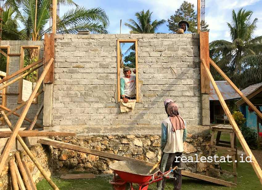 Program Bedah Rumah (BSPS) di Sulawesi Tengah (Foto: Dok. Kementerian PUPR)