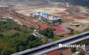 modernland cilejit marketing gallery bird eye view modernland realty realestat.id dok