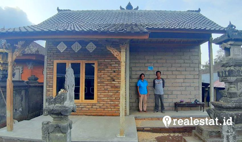 Rumah bedah rumah di Kabupaten Tabanan, Bali menyasar 400 unit rumah tidak layak huni. (Foto: Dok. Kementerian PUPR)