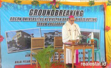 rusun mahasiswa Universitas Kevikepan Borong Diosis Ruteng manggarai tumru NTT realestat.id dok