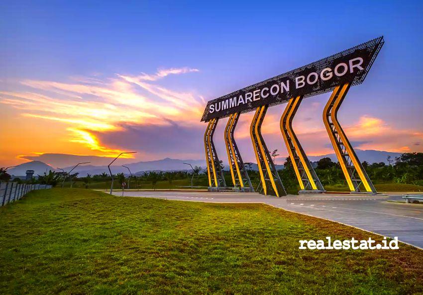 Pintu Gerbang Summarecon Bogor. (Foto: Dok. Summarecon)