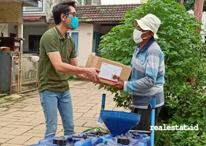 CSR Sharp Indonesia bagi warga terdampak covid-19 realestat.id dok