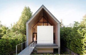 Salah satu inspirasi gaya arsitektur rumah minimalis, (Foto: Designmilk)
