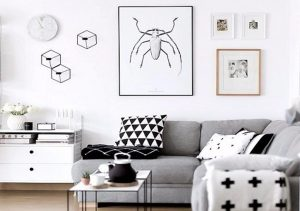 Aplikasi warna monokromatik pada interior hunian merupakan perpaduan beberapa palet yang bersumber dari satu warna dengan gradasi yang berbeda. (Foto: Pinterest)
