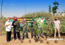 Jakarta Garden City TNI Kodim 0505 tanam pohon realestat.id dok